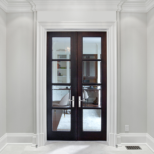 Custom interior french doors gallery traditional door for Interior glass french doors