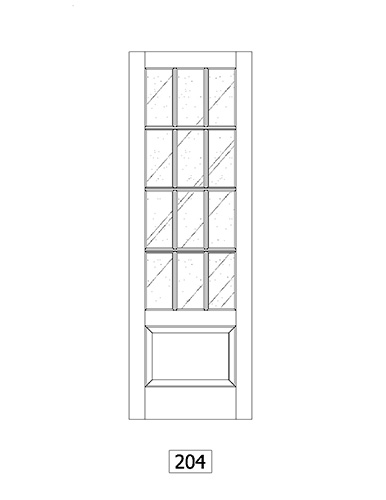 door line drawings