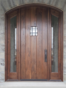 Reclaimed wood doors traditional doors for Old wood doors salvaged