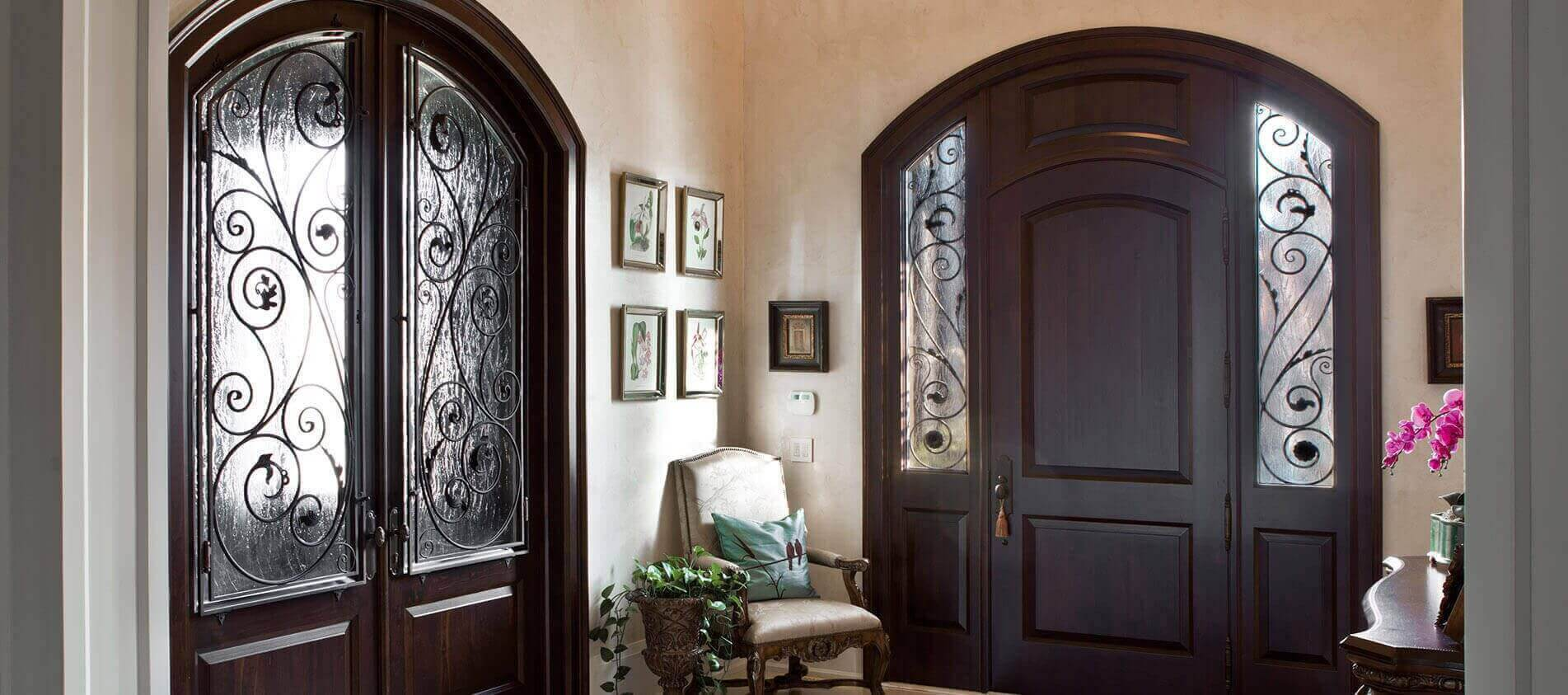 Traditional interior wooden doors - Toronto