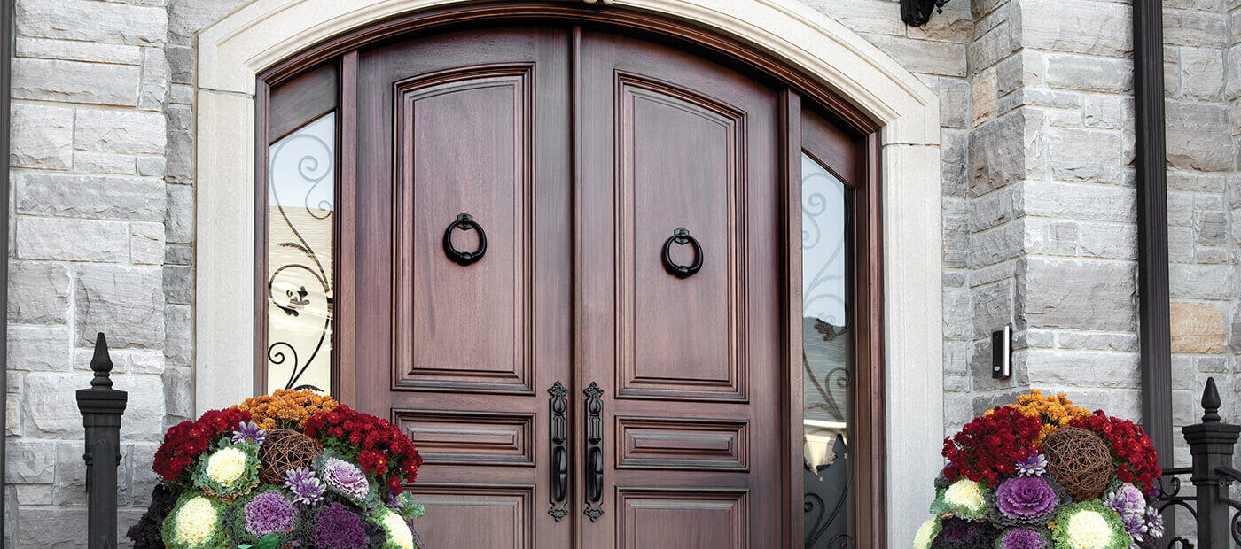 Exterior Traditional Wood Doors - Ontario